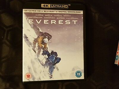 Everest 4K Ultra HD + Blu-ray