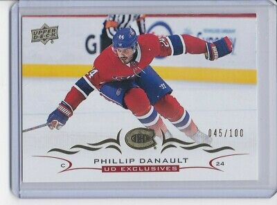 2018-19 Upper Deck UD EXCLUSIVES PHILLIP DANAULT 045/100