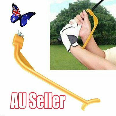 Golf Swing Swinging Training Aid Tool Trainer Wrist Control Gesture NW