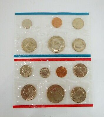 1980 US 12 Piece Mint Set In original packaging from US mint Uncirculated