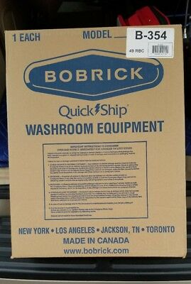 NEW IN BOX Bobrick B-354 Sanitary Napkin Disposal