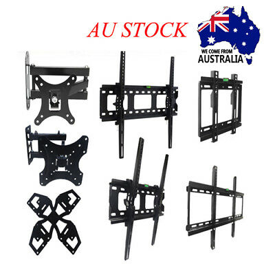 TV Wall Mount Bracket LCD LED Flat Plasma 14 37 40 42 46 50 55 60 62 65 70'' AU