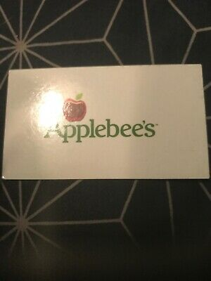 (1) Applebee's Food & Gift Card Vouchers NO EXPIRATION, WORTH UP TO $15