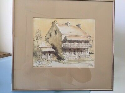 Sidney Neighbour Watercolour - Doctor's House