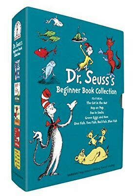 Dr. Seuss's Beginner Book Collection (Cat in the Hat, One Fish Two Fish, Green E