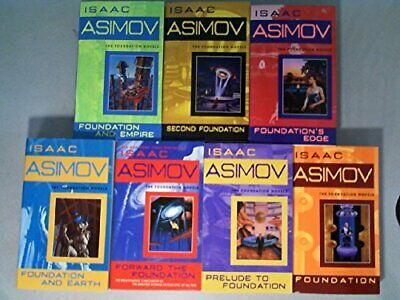 The Complete Isaac Asimov's Foundation Series Books 1-7 (Foundation, Foundation