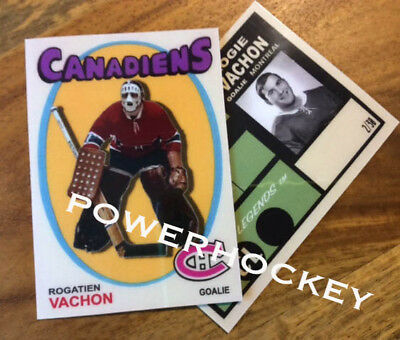 Custom Rogatien Vachon 1971-72 Style High Quality card only 30 made!!! Rogie