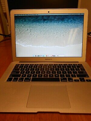 Macbook Air 13 inch mid 2012 i7 8GB Ram 256GB SSD Very nice used condition!