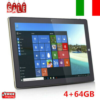 Teclast Tbook 10S 4+64GB 10.1'' Windows 10 Android 2 in 1 Ultrabook Tablet PC EU