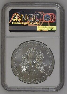 2012 W Burnished Silver Eagle NGC MS69