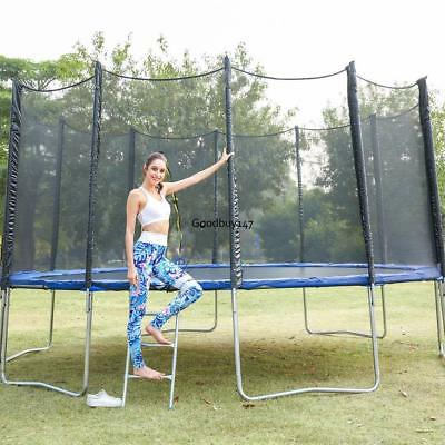 10/12/14/15 FT Trampoline Replacement Safety Pad Frame Spring Round Cover 5 Type