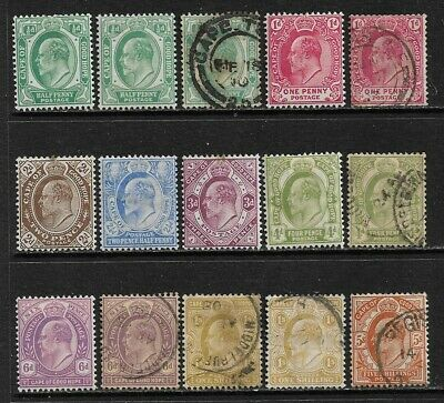 SOUTH AFRICA CAPE OF GOOD HOPE 1902/04 Mint & Used Issues Selection (Jan 073)