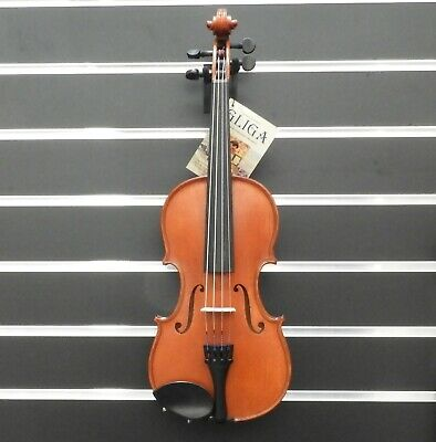Gliga Violin  7/8  Gliga 1 Outfit Antique Finish Inc Bow & Case Made in Europe
