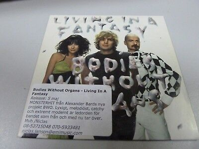 BWO + Velvet (ARMY OF LOVERS VACUUM) – Living In A Fantasy 2004  1ST EU MAXI-CD!
