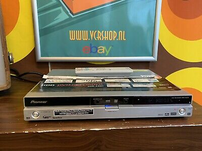 Pioneer DVR-440H - DVD Recorder + 80GB HDD Recorder + Remote
