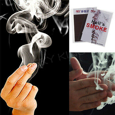 10/20 Pcs Magic Smoke From Hand Focus Surprise Jokes Mystical FunFT YR