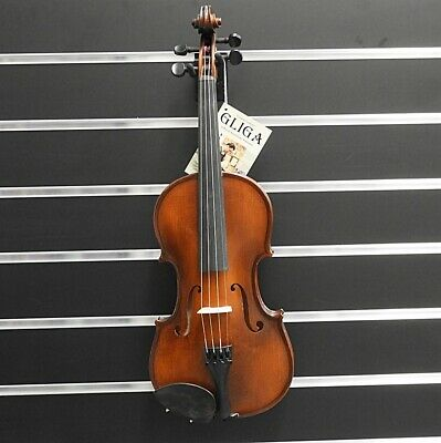 Gliga Violin  1/2  Gliga 3 Outfit Antique Finish Inc Bow & Case Made in Europe