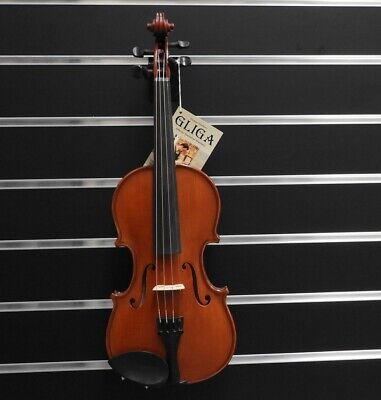Gliga Violin 7/8  Gliga 3 Outfit Antique Finish Outfit Setup  Made in Europe