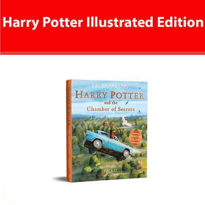 Harry Potter and the Chamber of Secrets Illustrated Edition Literature & Fiction