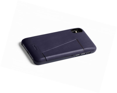 5592b57584 BELLROY LEATHER IPHONE XS Max Phone Case - 3 Card - Navy