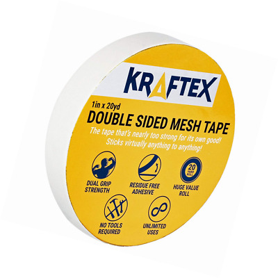 New: All Purpose Double Sided Tape, for Mounting, Carpets, Floors, Rugs, Runners