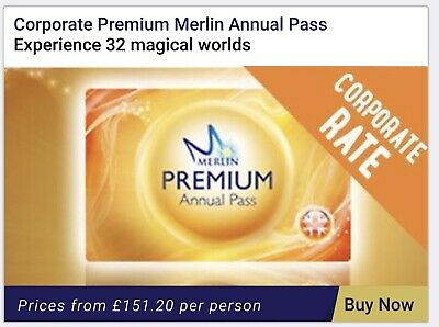 Merlin annual pass, Get 20% Discount