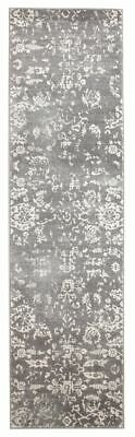 Grey Hallway Runner Hall Rug Traditional Extra Long FREE DELIVERY Assorted Size