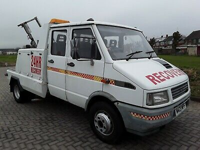 Iveco Ford recovery truck