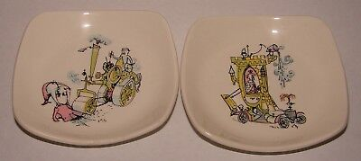 2 Wade Emetts Plates Chivalry and Town Carriage for a ninth Earl