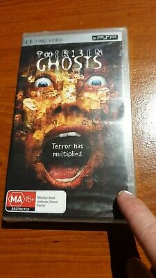 Sony playstation portable PSP umd movie thirteen ghosts video rare