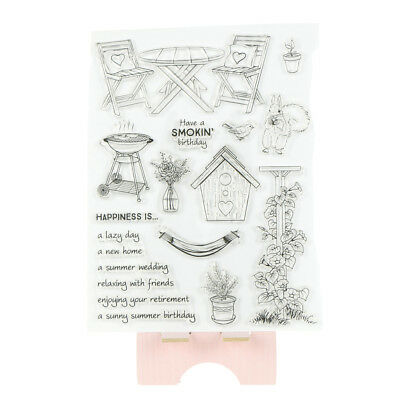 lazy day pattern Transparent Clear Stamps for DIY scrapbooking cards Decor OX YR