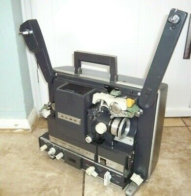 ELMO S 16mm optical magnetic sound projector RARE WORKS but SPARES OR REPAIRS