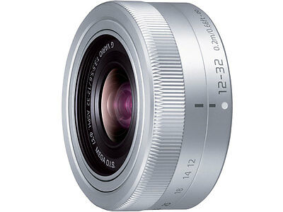 Panasonic LUMIX G VARIO 12-32 mm F3.5-5.6 Lens For M4/3 H-FS12032 without box S