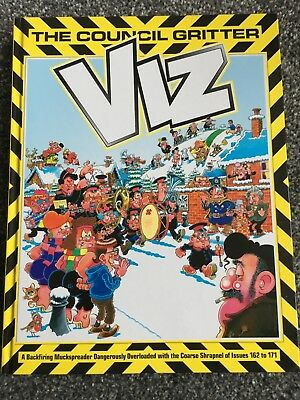 Viz The Council Gritter Hardback Book Annual