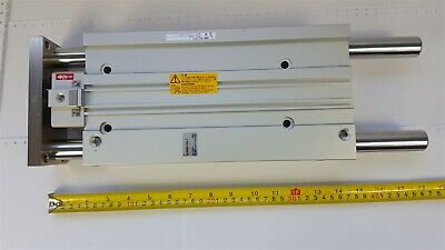SMC MLGPM50-250-F One-Way Locking Slide Bearing Pneumatic Cylinder 1.0MPa - New
