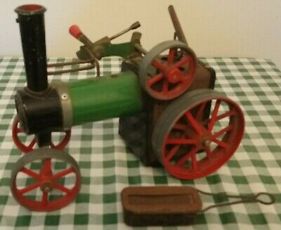 UNBOXED VINTAGE 1970's MAMOD STEAM TRACTION ENGINE TE1 FOR RESTORATION