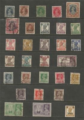 India -  King George V1 Mixed Selection.