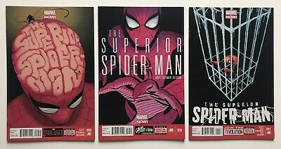 Marvel SUPERIOR SPIDER-MAN #9, 10, 11 NM 3 Comics Set* 1st Print Lot Run