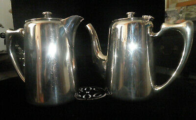 Two Mappin & Webb's Coffee Pots