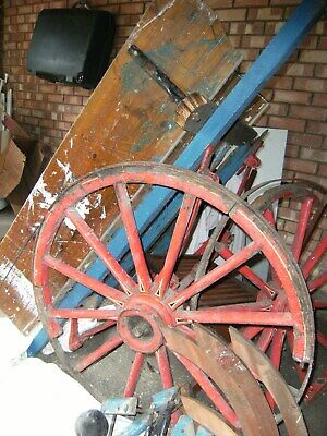 old builers hand cart