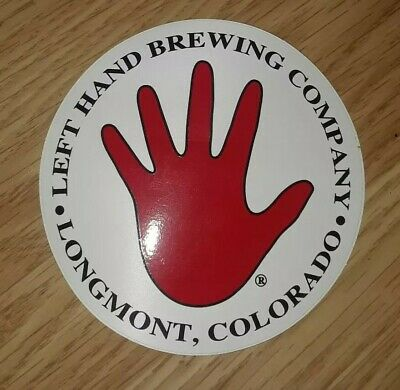 LEFT HAND BREWING COMPANY Nitro Stout LAPEL PIN Badge Button craft beer brewery