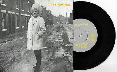 "The Smiths * Heaven Knows I'm Miserable Know * 7"" Single Rt 156 Plays Great"