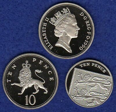 Great Britain, Proof 10p, 10 Pence Coin, Choice of Year, Choose Your Date
