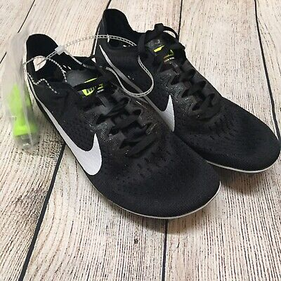 a5ff6563ee2f6 NEW Nike Zoom Victory 3 Track Running Shoes Mens Size 6 Black White 835997- 017