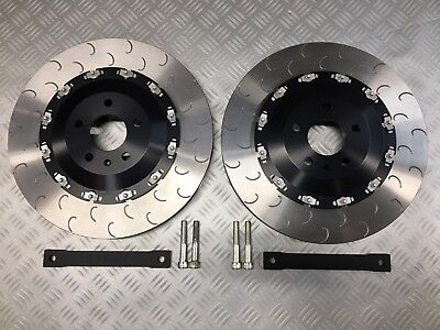Audi R8 FRONT two piece floating big 380mm brake disc kit