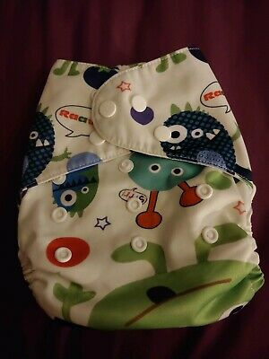 Cloth Diaper Pocket All in One One Size