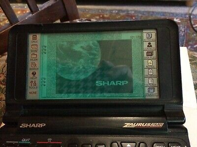 Sharp Zaurus ZR-5800 PDA Personal PC Vintage Organizer with Books/Battery/stylus