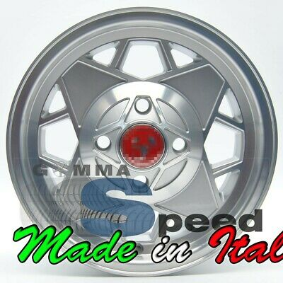 "Set 4 Cerchi in lega per Fiat 500 d'epoca Abarth da 12"" 4x98 500 OLD 574 SP"