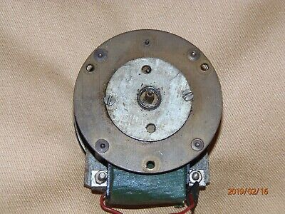 Vintage clock movement, electric, not working.