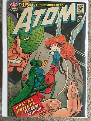 The Atom 33 DC Comics Silver Age 1967 Amazing Arsenal of the Atom